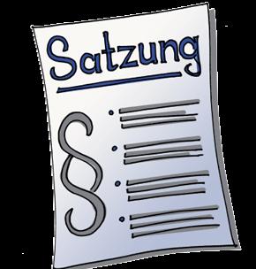 Überarbeitung der Seiten Impressum und Satzung